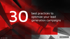 30 Best Practices for Lead Gen - Titan Creative Guide - cover
